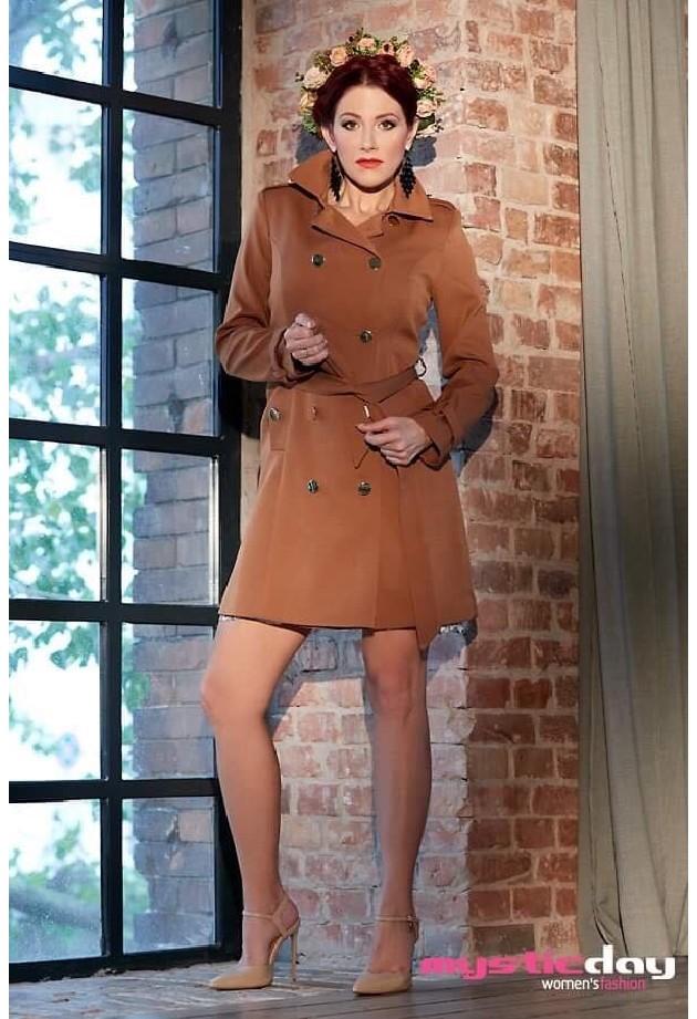 Mystic Day Tavaszi. őszi dália kabát Rose Fashion